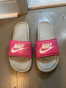 Well Worn Womens Nike Slides