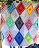 Diamond Lane - modern pieced quilt mini PATTERN - Valori Wells