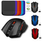 Adjustable DPI USB Receiver Wireless Mouse/Mouse Mat Optical Mice For Laptop/PC