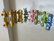 CARE BEAR COLLECTION OF 10 FIGURES INC COUSINS 1980'S MIX