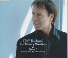 CLIFF RICHARD 21st Century Christmas / Move it 2 TRACK CD NEW - NOT SEALED