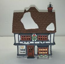 Dept 56 Dickens Village Series 1990 Tutbury Printer 55689 Retired With Box