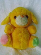 Orange Gold Dog 1981 Animal Toys Plus  Dog Doggie Stuffed Plush