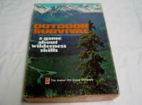 AH Avalon 1972 : OUTDOOR SURVIVAL - A game of Wilderness Skills (UNPUNCHED)