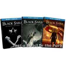 Black Sails: Starz TV Series Complete Seasons 1 2 3 Box / BluRay Set(s) NEW!