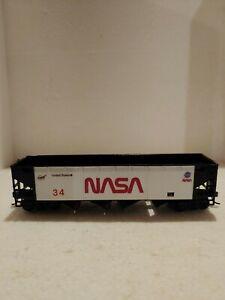 HO Scale NASA Athearn coal hopper.