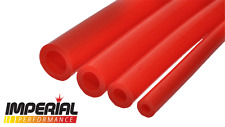 5mm SILICONE VACUUM TUBING/HOSE/PIPE in RED for dump valves, washers,coolant