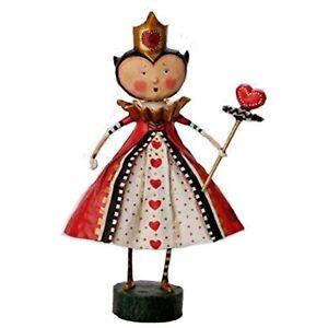 Lori Mitchell Queen of Hearts from Alice in Wonderland Storybook Figurine 11022