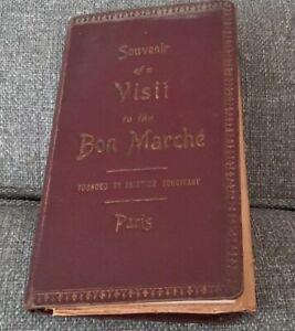 Souvenir of a visit to the Bon Marche founded by Aristide Boucicaut.