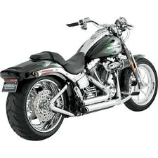 Shortshots Staggered Exhaust System Vance & Hines Chrome 17221