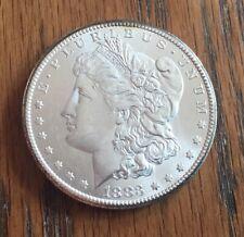 1883 CC MORGAN SILVER DOLLAR - 90% SILVER - VERY NICE DETAIL