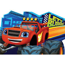 Blaze And The Monster Machines Party Supplies INVITES INVITATIONS Pack Of 8