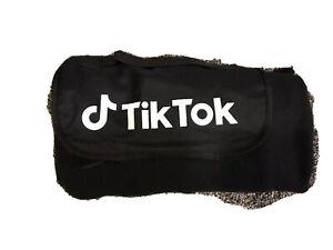 Fold Up Travel Blanket Til Tok Logo Gift Used 1 Time 48 X 48 Smoke Free Home