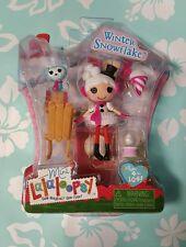 New Mini Lalaloopsy Winter Snowflake Christmas Doll