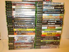 Lot of 47  Original Xbox Games VG Condition Free Shipping Gun, Sonic & More
