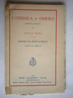L'Odissea di Omero fascicolo libro IV 4 testo greco fronte Sandron liceo epica