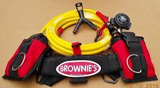 Brownie's Third Lung Hookah Add-A-Diver Kit ADKX-20, Hookah Diving,Scuba