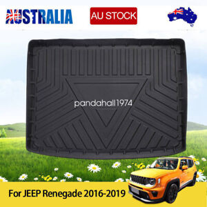 Auto Trunk Cargo Liner Car Tray Mat Cover for Jeep Renegade 2016-2019 AU