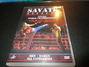 "DVD ""SAVATE ASSAUTS : FINALS WORLD CHAMPIONSHIP PARIS 2008"""