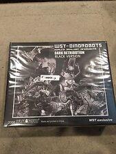 Transformers WST Dinobots Dark Out Black Retribution World's Smallest Grimlock