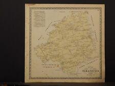 Pennsylvania Lancaster County Map 1864 Strasburg Township O5#84