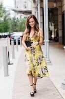 Topshop Floral Jacquard Prom Midi Dress - Lime - UK8/EU36/US4
