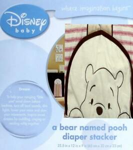 KIDSLINE BABY A BEAR NAMED POOH WINNIE THE POOH DIAPER STACKER BABY BEDDING NEW