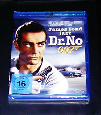 JAMES BOND 007 HUNT DR. NO CON SEAN CONNERY BLU-RAY NUOVO E CONFEZIONE ORIGINALE