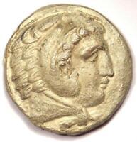 Alexander the Great III AR Tetradrachm Coin - 336-323 BC - XF Details (EF)!