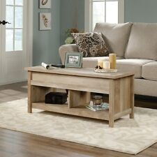 Sauder Living Room Lift Top Storage Coffee Table Lintel Oak Finish - 420336