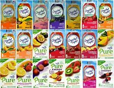 Crystal Light On The Go Drink Mix 25 Flavor to Choose From, Super Fast Shipping!