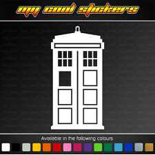 Tardis - Doctor Who 20cm high Vinyl Sticker Decal for car, ute, truck, window