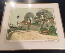 Authentic Denis Paul Noyer Lithograph Signed And COA 35/375 Framed 28x24