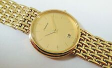 Lassale by Seiko Gold Tone Stainless Steel 7N29-6F00 Sample Watch NON-WORKING