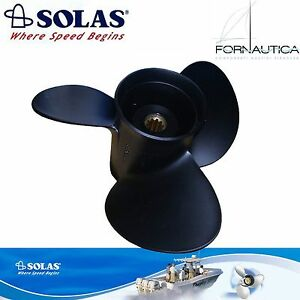 ELICA SOLAS 3 PALE ALLUMINIO PER FUORIBORDO MERCURY 75/80/90/100/115/125 HP (2T)