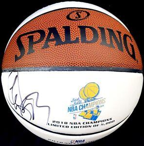 DRAYMOND GREEN #23 SIGNED GOLDEN STATE WARRIORS NBA FINALS BASKETBALL PSA/DNA