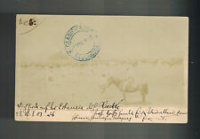 1903 Asuncion Paraguay to Dresden Germany Postcard Cover Major Rose