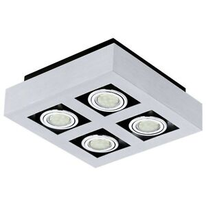 Applique Spotlight Wall 4 LED Lights Adjustable Modern 20W Collection Glo 91355