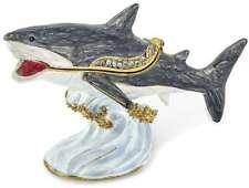 Bejeweled Great White Shark Schmuckkästchen