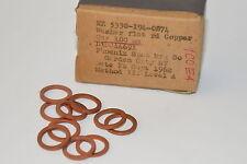10x MIL Spec Unterlegscheiben aus Kupfer M12, Dicke 1.6 x Ø 18 mm, ähnl. DIN125