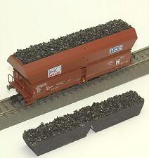 037 h0 avente Fleischmann stesso carrello scarico Falns 183 5521 pietrisco grigio OVP