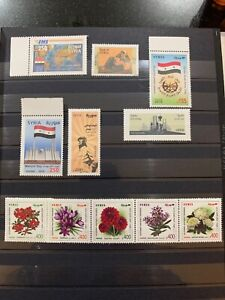 Syria 2019 Stamp Releases MNH Army Day Flowers Martyrs Express Post  Mother Day