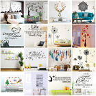 3D DIY Family Art Home Decor Removable Vinyl Quote Wall Sticker Mural Decal Art