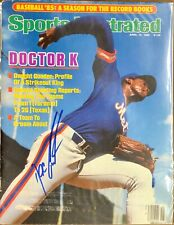 Dwight Doc Gooden Signed Sports Illustrated 4/15/85 Issue MLB NY Mets Cy Young