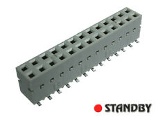 10pcs 2x13, Female socket straight, 89898-313 BERG ELECTRONICS, Pitch 2,54mm SMD