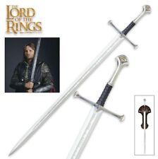 United Cutlery il signore degli anelli Anduril spada di Re Elessar SPADA UC1380 NUOVO