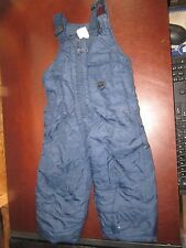 Artic Quest 3T Blue snow pants ski suit Pants bibs cute sledding cold