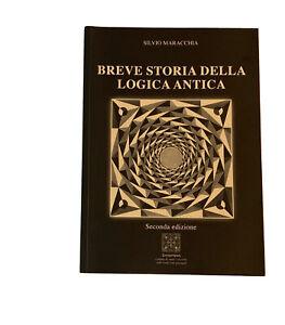 Breve storia della logica antica-Silvio Maracchia