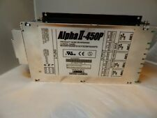 Lambda Alpha II- 650P Model MV4500006A Max I/P 8A, Max OP 450W-USED, GREAT COND.