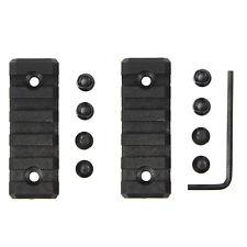 2 PCS Keymod 5 Slot Picatinny/Weaver Rail Handguard Section Polymer - 2 inch